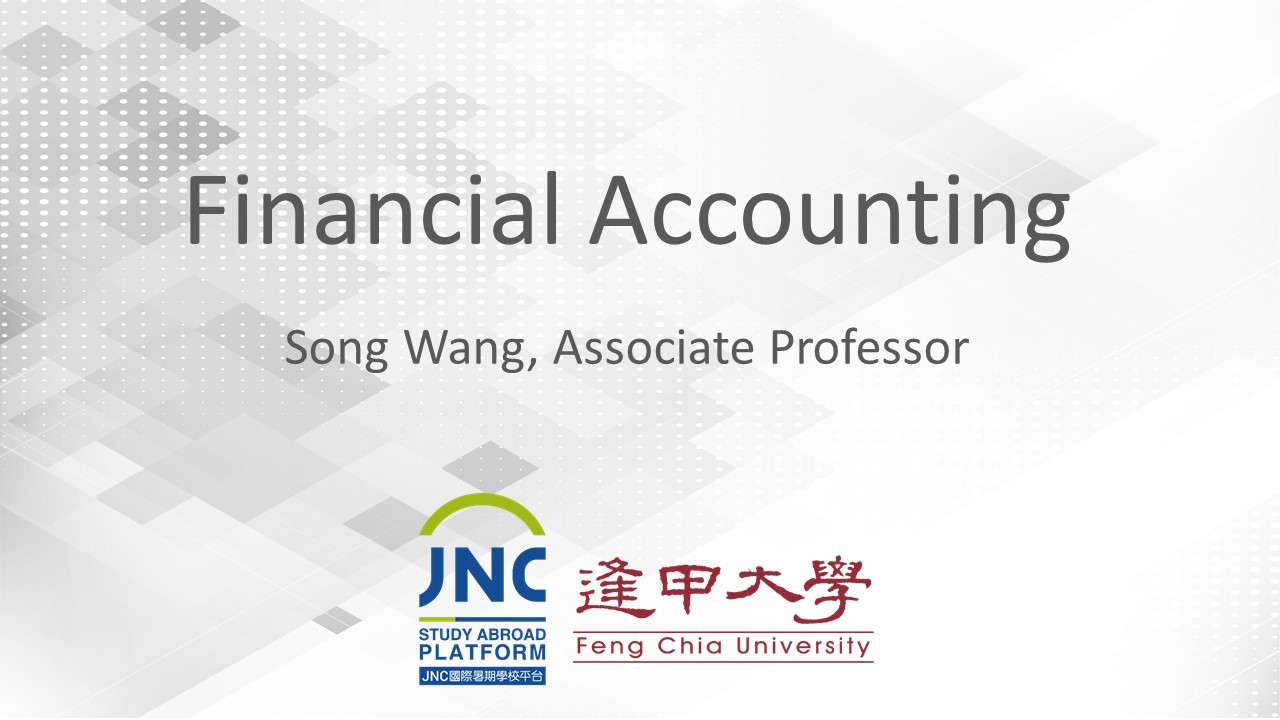 Financial Accounting JNC2019002