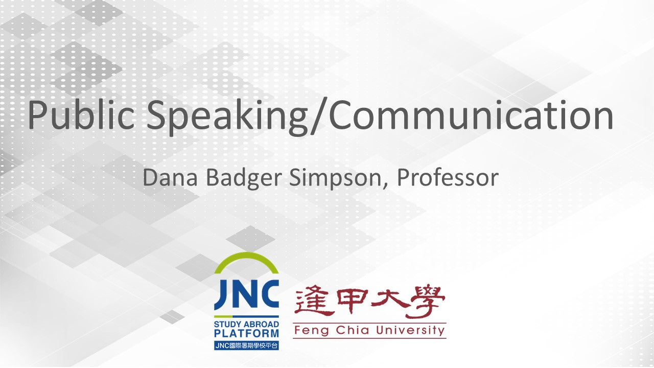 Public Speaking/Communication JNC2019013