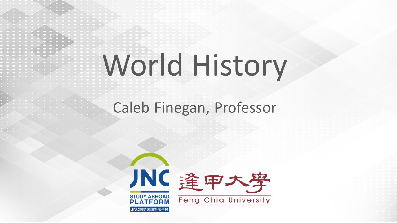World History JNC2019028