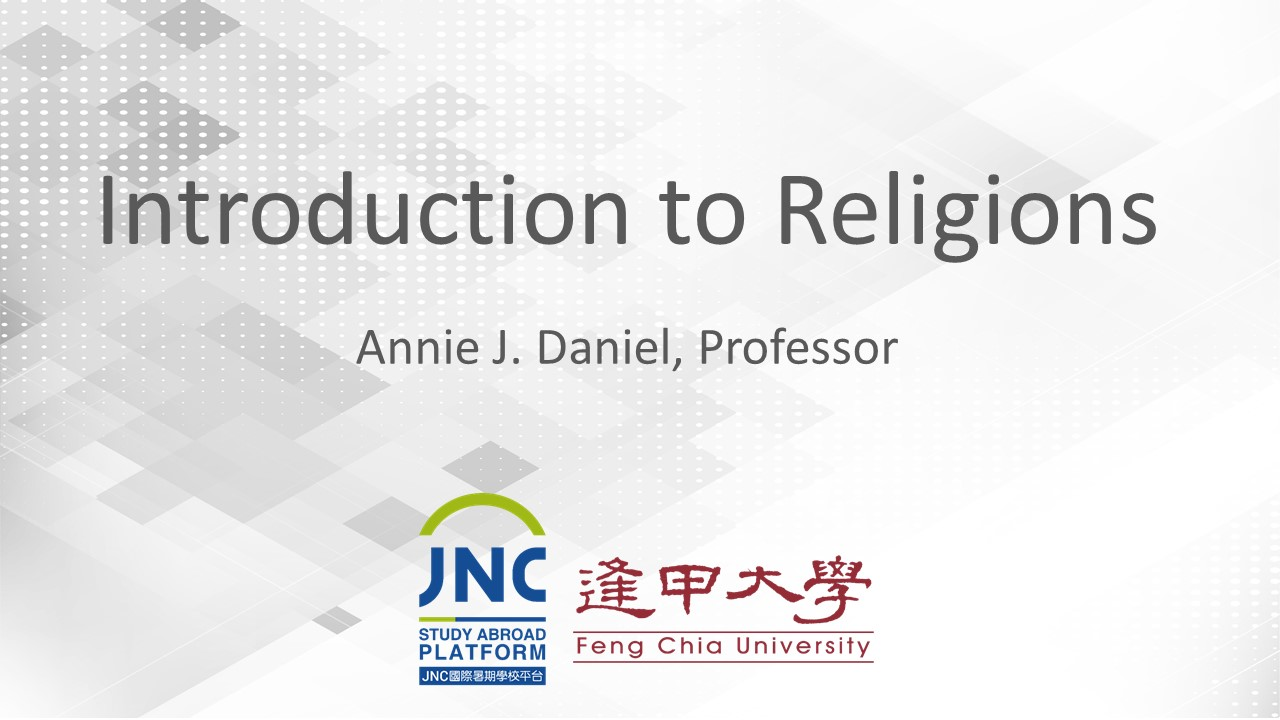 Introduction to Religions JNC2019030