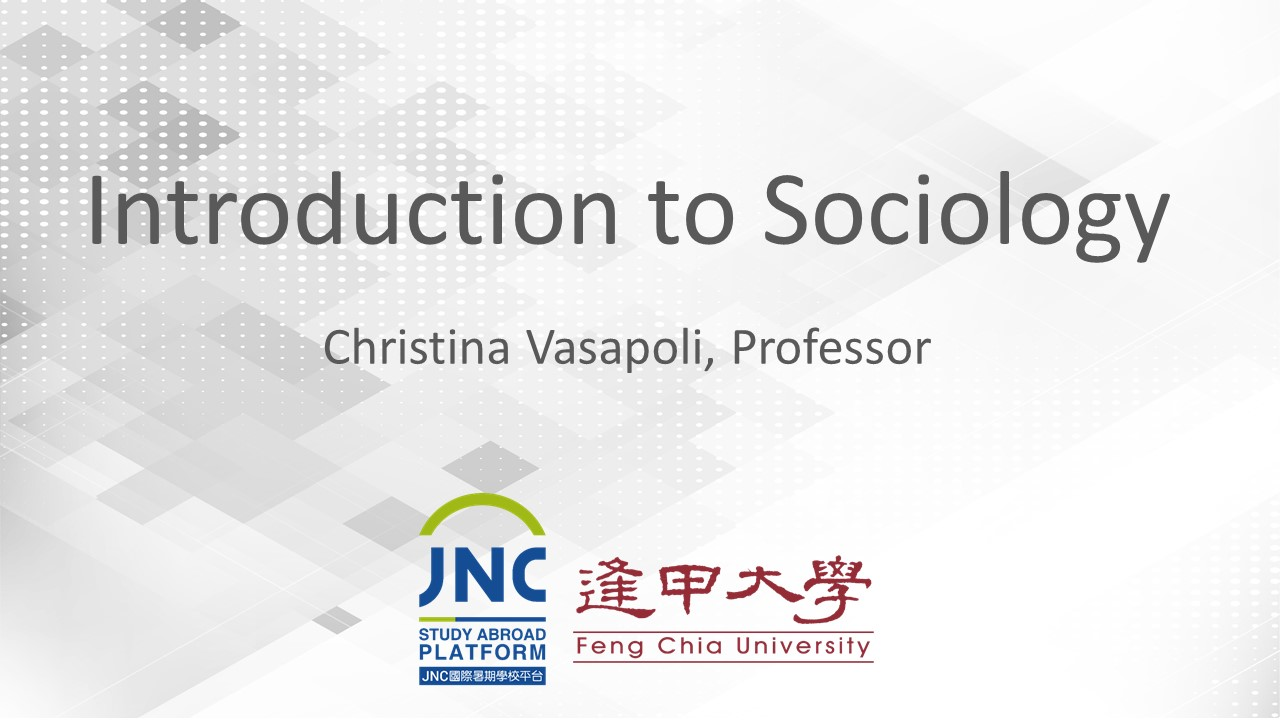 Introduction to Sociology JNC2019031